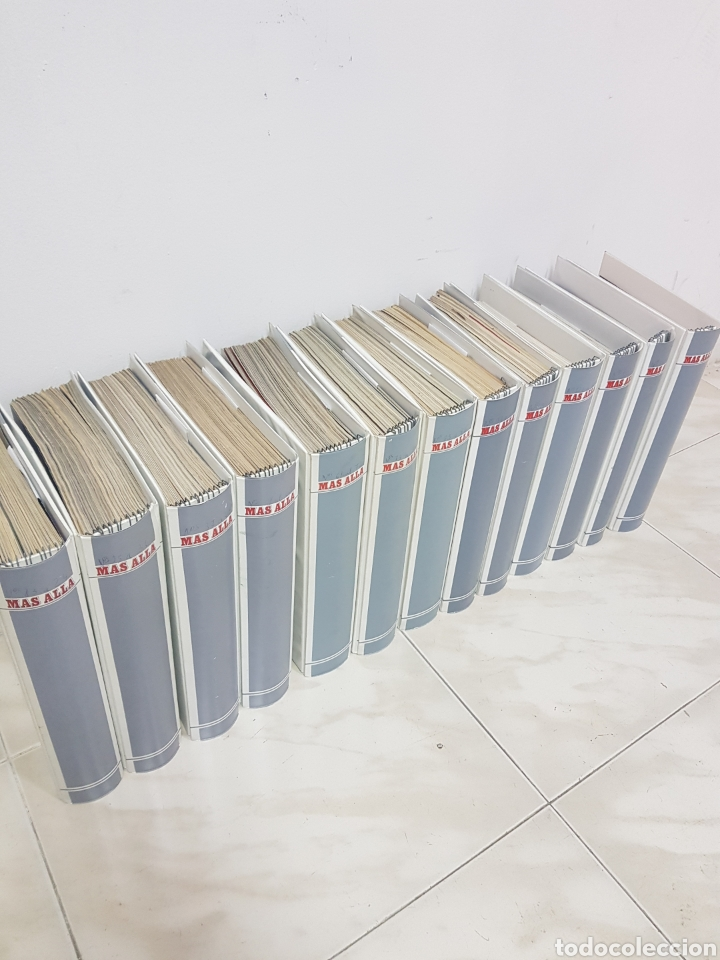 Coleccionismo de Revista Más Allá: REVISTAS MAS ALLA DEL NUMERO 13 A 168. En 13 tomos encuadernados - Foto 10 - 206326048