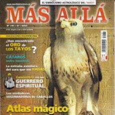 Coleccionismo de Revista Más Allá: * CO26 - REVISTA - MAS ALLA - ATLAS MAGICO DE EGIPTO - 2005. Lote 206473252