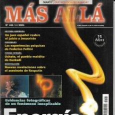 Coleccionismo de Revista Más Allá: * CO27 - REVISTA - MAS ALLA - ENERGIAS LUMINOSAS - 2004. Lote 206473383