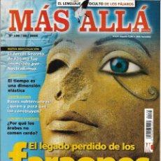Coleccionismo de Revista Más Allá: * CO28 - REVISTA - MAS ALLA - EL LEGADO PERDIDO DE LOS FARAONES - 2005. Lote 206473548