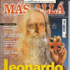 Coleccionismo de Revista Más Allá: * CO29 - REVISTA - MAS ALLA - LEONARDO EL ULTIMO CATARO - 2004. Lote 206473685