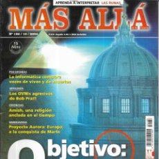 Coleccionismo de Revista Más Allá: * CO30 - REVISTA - MAS ALLA - OBJETIVO LA IGLESIA - 2004. Lote 206473830
