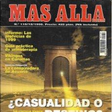 Coleccionismo de Revista Más Allá: * CO57 - REVISTA - MAS ALLA - 1998. Lote 206913248