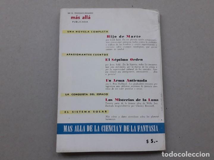 Coleccionismo de Revista Más Allá: Revista Mas Allá n° 2 original única e impecable - editorial Abril argentina año 1953 - Foto 7 - 206975868
