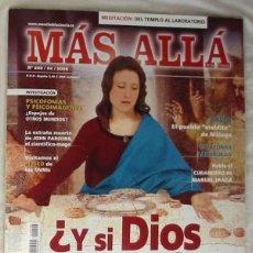 Coleccionismo de Revista Más Allá: REVISTA MÁS ALLÁ DE LA CIENCIA Nº 206 / ABRIL 2006 - VER SUMARIO. Lote 207273325