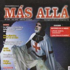 Collectionnisme de Magazine Más Allá: REVISTA MÁS ALLÁ: TEMPLARIOS.¿GUARDIANES DE LA SÁBANA SANTA?. Lote 207308400