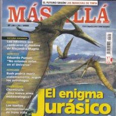 Coleccionismo de Revista Más Allá: REVISTA MÁS ALLÁ: EL ENIGMA JURÁSICO. Lote 207308746