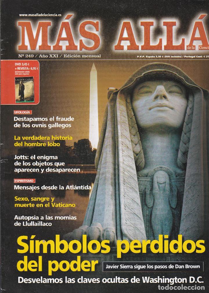 REVISTA MÁS ALLÁ: SIMBOLOS PERDIDOS DEL PODER (Coleccionismo - Revistas y Periódicos Modernos (a partir de 1.940) - Revista Más Allá)