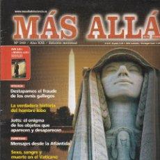 Coleccionismo de Revista Más Allá: REVISTA MÁS ALLÁ: SIMBOLOS PERDIDOS DEL PODER. Lote 207309783