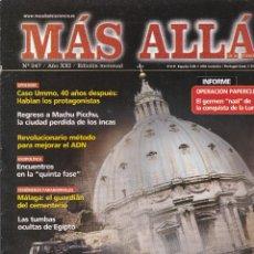 Coleccionismo de Revista Más Allá: REVISTA MÁS ALLÁ: EL APOCALIPSIS SEGÚN LAS GRANDES RELIGIONES.. Lote 207310042