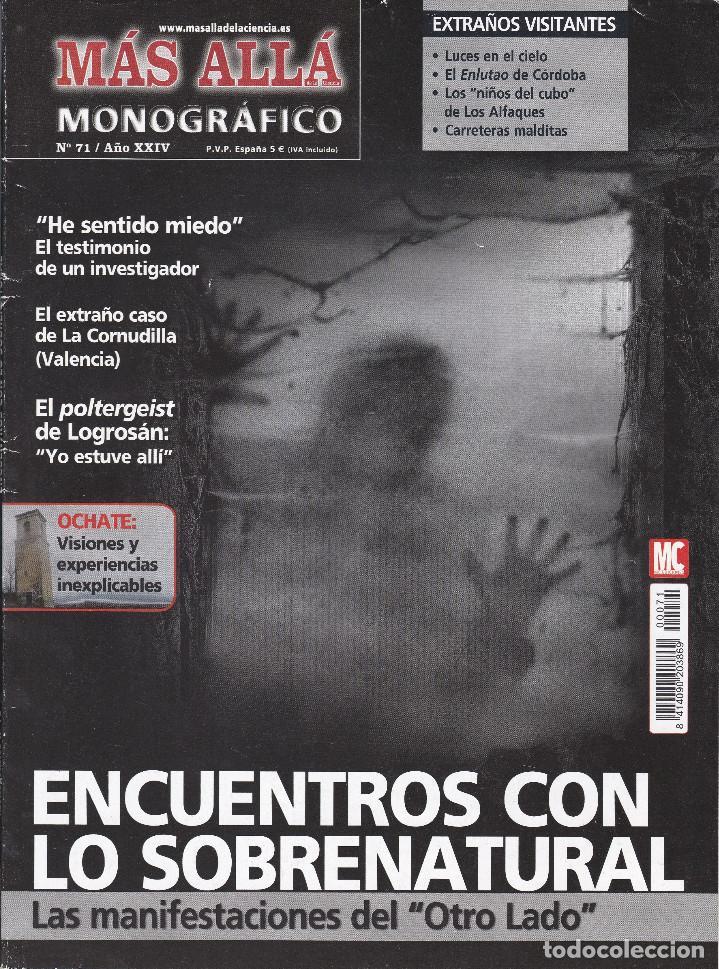 REVISTA MÁS ALLÁ: ENCUENTROS CON LO SOBRENATURAL. (Coleccionismo - Revistas y Periódicos Modernos (a partir de 1.940) - Revista Más Allá)