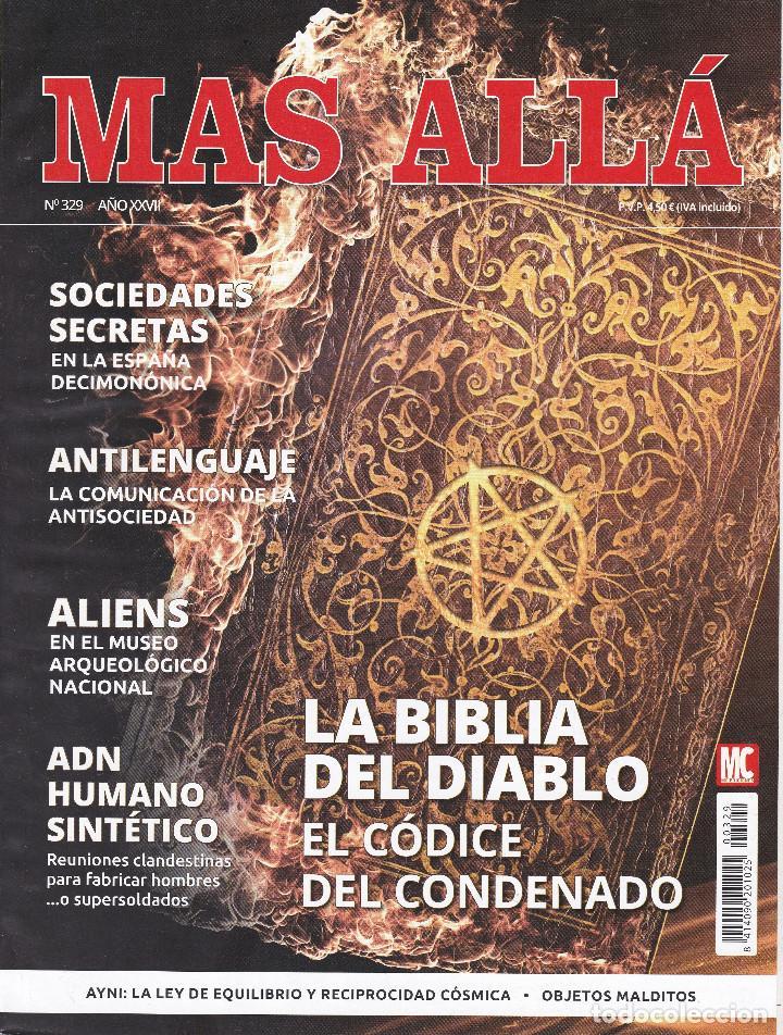 REVISTA MÁS ALLÁ: LA BIBLIA DEL DIABLO. EL CÓDICE DEL CONDENADO. (Coleccionismo - Revistas y Periódicos Modernos (a partir de 1.940) - Revista Más Allá)