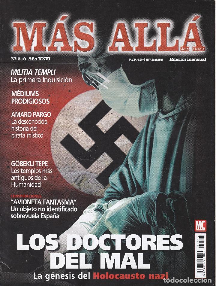 REVISTA MÁS ALLÁ: LOS DOCTORES DEL MAL. (Coleccionismo - Revistas y Periódicos Modernos (a partir de 1.940) - Revista Más Allá)