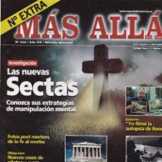 Coleccionismo de Revista Más Allá: REVISTA MÁS ALLÁ: LAS NUEVAS SECTAS. Lote 207311128