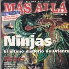 Coleccionismo de Revista Más Allá: REVISTA MÁS ALLÁ: NINJAS EL ÚLTIMO MISTERIO DE ORIENTE. Lote 207361993