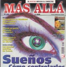 Coleccionismo de Revista Más Allá: REVISTA MÁS ALLÁ: SUEÑOS COMO CONTROLARLOS.. Lote 207362135