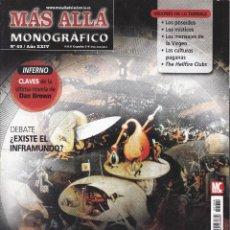 Coleccionismo de Revista Más Allá: REVISTA MÁS ALLÁ: INFIERNO EL REINO DE LOS CONDENADOS. Lote 207362588