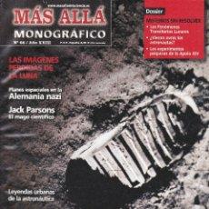 Coleccionismo de Revista Más Allá: REVISTA MÁS ALLÁ: LOS SECRETOS DE LA CARRERA ESPACIAL.. Lote 207362760