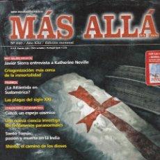 Coleccionismo de Revista Más Allá: REVISTA MÁS ALLÁ: EL GRAN SECRETO DE LOS TEMPLARIOS.¿DESCUBIERTA LA TUMBA DE MARIA MAGDALENA?. Lote 207362886