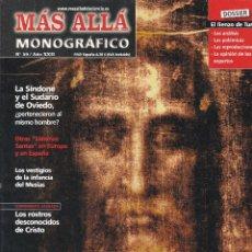 Coleccionismo de Revista Más Allá: REVISTA MÁS ALLÁ: LA SÁBANA SANTA Y OTRAS RELIQUIAS DE JESUS.. Lote 207362976
