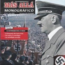 Coleccionismo de Revista Más Allá: REVISTA MÁS ALLÁ: HITLER Y EL OCULTISMO.. Lote 207363103