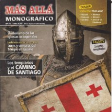 Coleccionismo de Revista Más Allá: REVISTA MÁS ALLÁ: TEMPLARIOS. ESPAÑA: EL ÚLTIMO BASTIÓN DE LA ORDEN MALDITA.. Lote 207363343