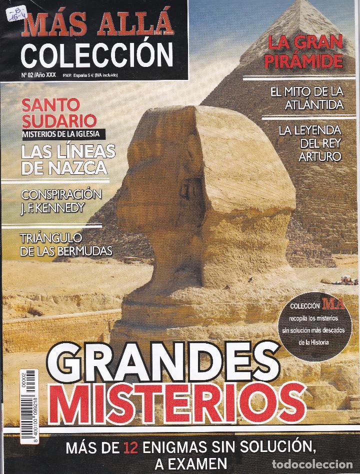 REVISTA MÁS ALLÁ: GRANDES MISTERIOS (Coleccionismo - Revistas y Periódicos Modernos (a partir de 1.940) - Revista Más Allá)