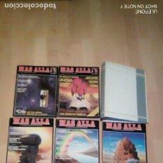 Coleccionismo de Revista Más Allá: LOTE DE 5 NUMEROS DE MAS ALLA, 2 DE AÑO CERO Y 1 DE CONOCER. Lote 207654200
