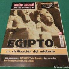 Collectionnisme de Magazine Más Allá: MÁS ALLÁ MONOGRÁFICO Nº 79 - EGIPTO. LA CIVILIZACIÓN DEL MISTERIO. Lote 212882773