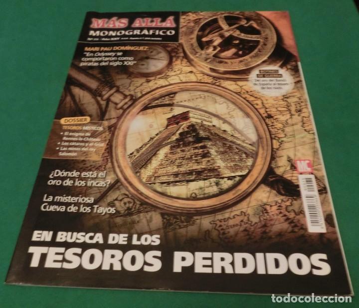 MÁS ALLÁ MONOGRÁFICO Nº 75 - EN BUSCA DE LOS TESOROS PERDIDOS (Coleccionismo - Revistas y Periódicos Modernos (a partir de 1.940) - Revista Más Allá)
