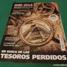 Collectionnisme de Magazine Más Allá: MÁS ALLÁ MONOGRÁFICO Nº 75 - EN BUSCA DE LOS TESOROS PERDIDOS. Lote 212884510