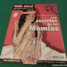 Collectionnisme de Magazine Más Allá: MÁS ALLÁ MONOGRÁFICO Nº 45 - LOS SECRETOS DE LAS MOMIAS (DE EGIPTO A SUDAMÉRICA). Lote 212884722