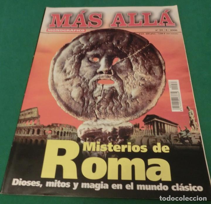 MÁS ALLÁ MONOGRÁFICO Nº 33 - MISTERIOS DE ROMA (Coleccionismo - Revistas y Periódicos Modernos (a partir de 1.940) - Revista Más Allá)