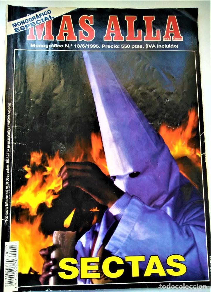 REVISTA MAS ALLÁ - MONOGRÁFICO ESPECIAL NÚMERO 13 - SECTAS (Coleccionismo - Revistas y Periódicos Modernos (a partir de 1.940) - Revista Más Allá)