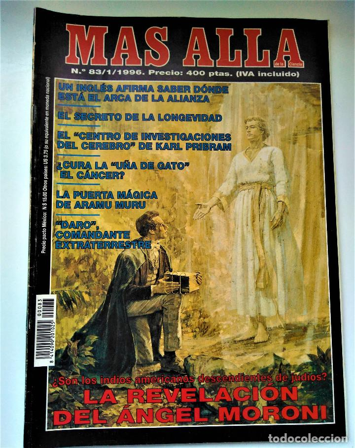 REVISTA MAS ALLÁ - NÚMERO 83 - ENERO 1996 - LA REVELACIÓN DEL ÁNGEL MORONI (Coleccionismo - Revistas y Periódicos Modernos (a partir de 1.940) - Revista Más Allá)