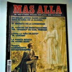 Coleccionismo de Revista Más Allá: REVISTA MAS ALLÁ - NÚMERO 83 - ENERO 1996 - LA REVELACIÓN DEL ÁNGEL MORONI. Lote 213087367