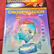 Coleccionismo de Revista Más Allá: REVISTA GENERACIÓN 4.4. Lote 214021685