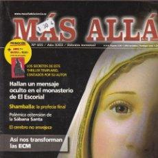 Coleccionismo de Revista Más Allá: REVISTA MÁS ALLÁ: FATIMA. Lote 217608490