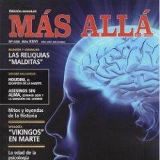 Coleccionismo de Revista Más Allá: MAS ALLA N. 332 - EN PORTADA: LA INTERPRETACION DE LOS SUEÑOS (NUEVA). Lote 217625561