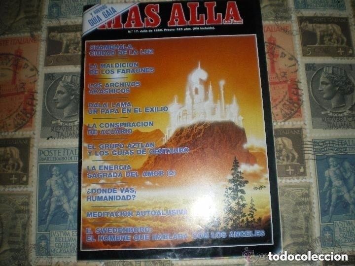 MÁS ALLÁ DE LA CIENCIA. Nº 17. JULIO 1990. SHAMBHALA, CIUDAD DE LA LUZ - DIVERSOS AUTORES (Coleccionismo - Revistas y Periódicos Modernos (a partir de 1.940) - Revista Más Allá)