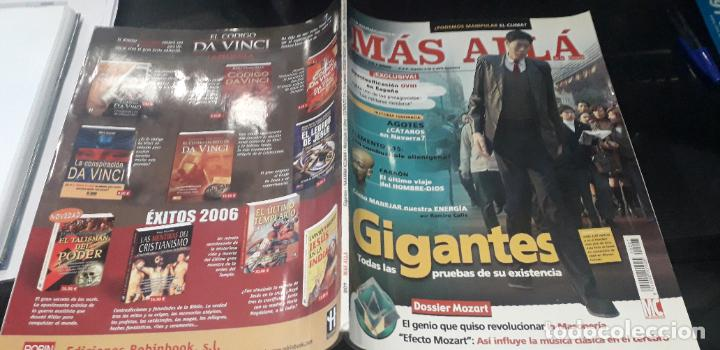 Coleccionismo de Revista Más Allá: revista mas alla 207 gigantes mozart ovnis faraones creencias - Foto 4 - 218102237