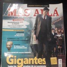 Coleccionismo de Revista Más Allá: REVISTA MAS ALLA 207 GIGANTES MOZART OVNIS FARAONES CREENCIAS. Lote 218102237
