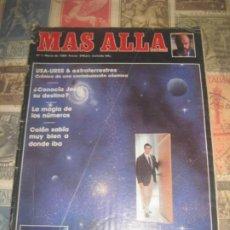 Coleccionismo de Revista Más Allá: MAS ALLÁ NUMERO 1 AÑO 1989 QUE NO ESPERA DESPUES DE LA MUERTE LA MAGIA DE LOS NUMERO COLO SABIA MUY. Lote 218436022