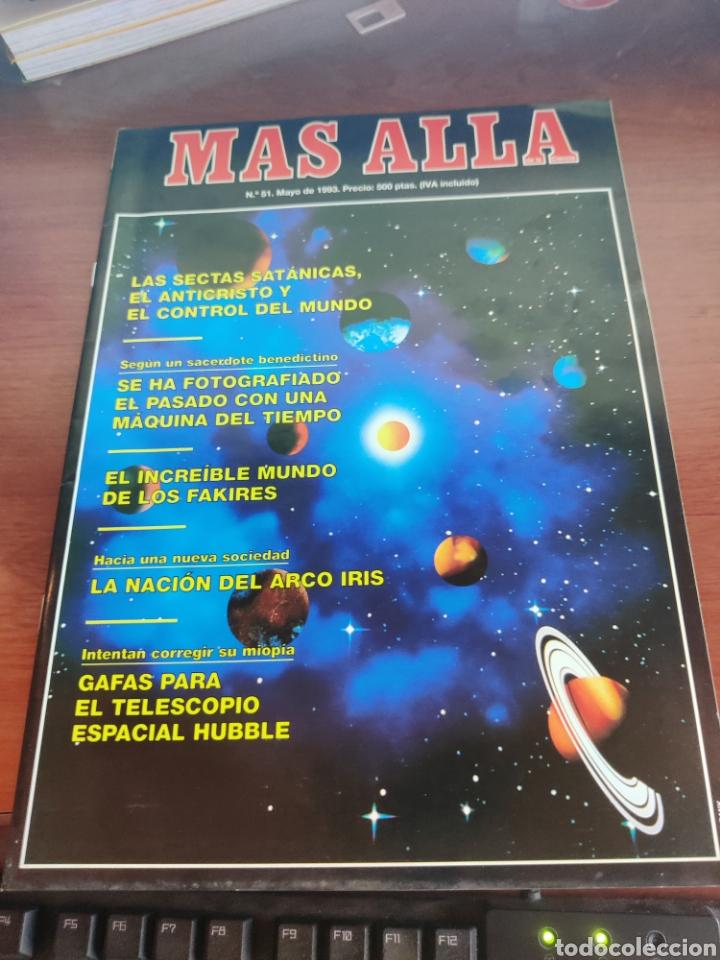 MÁS ALLA DE LA CIENCIA NÚMERO 51 MAYO 1993 LAS SECTAS SATÁNICAS (Coleccionismo - Revistas y Periódicos Modernos (a partir de 1.940) - Revista Más Allá)