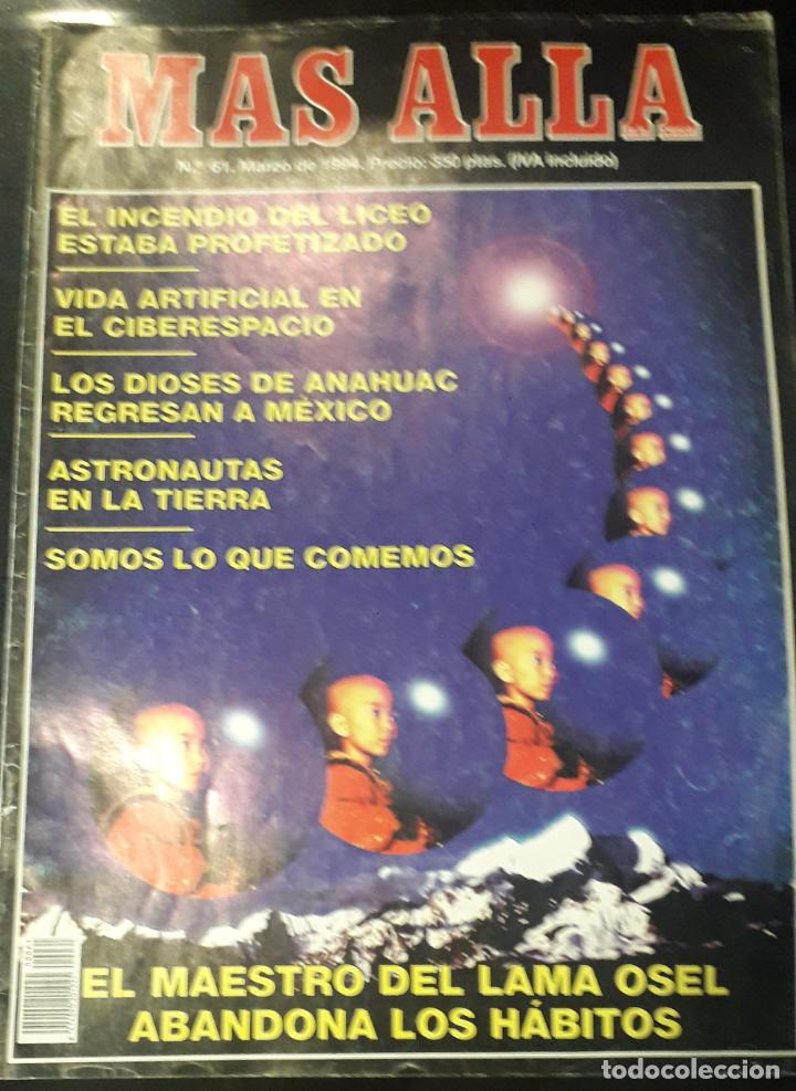REVISTA NUEVA ERA MAS ALLA 61 ASTRONAUTAS ESCORIAL LAMA DIOSES ANAHUAC (Coleccionismo - Revistas y Periódicos Modernos (a partir de 1.940) - Revista Más Allá)