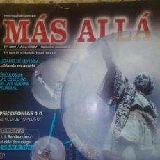 Coleccionismo de Revista Más Allá: MAS ALLA N 290 - BARCELONA MASONIC - JJ BENITEZ - AMPARO CUEVAS. Lote 219454420