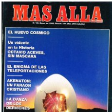 Coleccionismo de Revista Más Allá: REVISTA MAS ALLA Nº 35 - ENERO 992. Lote 220811897