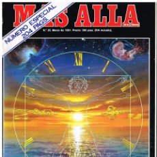 Coleccionismo de Revista Más Allá: REVISTA MAS ALLA Nº 25 - MARZO 1991. Lote 220812173