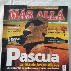 Coleccionismo de Revista Más Allá: REVISTA MAS ALLA Nº 200 ESPECIAL, DOSSIER 200 MESES.. Lote 220875530