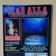 Coleccionismo de Revista Más Allá: MÁS ALLÁ DE LA CIENCIA. Nº 88/6/1996. ¿ES LA OCTAVA ISLA DE CANARIAS, SAN BORONDÓN, UNA BASE ATLANTE. Lote 221284475